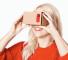 Google Cardboard, fully assembled. Photo: Google